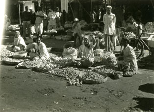 [A Fruit and Vegetable Vendor]