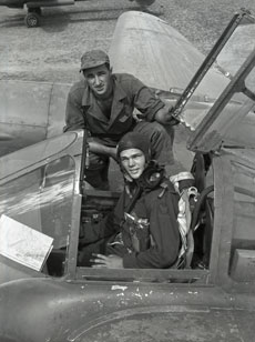 [A Pilot and Crew Chief]