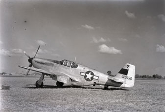 [An Early P-51 Model]