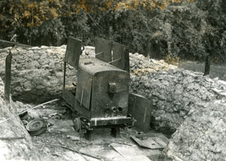 [A Japanese-captured and Abandoned Power Generator]