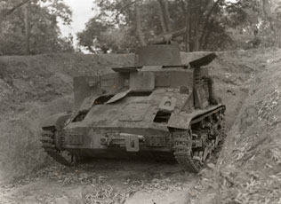 [An Abandoned Japanese Tank]