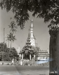 [A Pagoda In Rangoon]