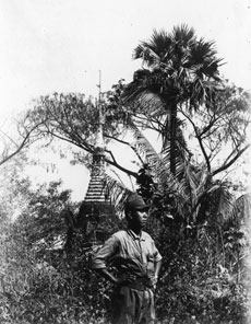 [Photo of Japanese Soldier found in a Rangoon Photo Studio]