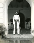 [A Guard at the Palace of the Maharajah]