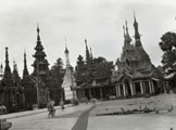 [Plaza at Shwedagon Pagoda]