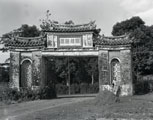 [A Gate to a Chinese Merchant's House]