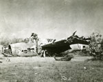 [Wreckage of a Downed Japanese Bomber Plane]