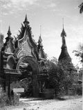 [A Buddhist Temple Gate]