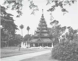 [Pagoda in Botanical Garden]