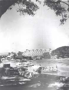 [Kidderpore Bridge view]