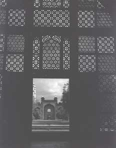 [Inside Akbar's tomb]