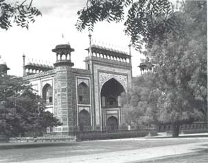 [Gate into Taj grounds]