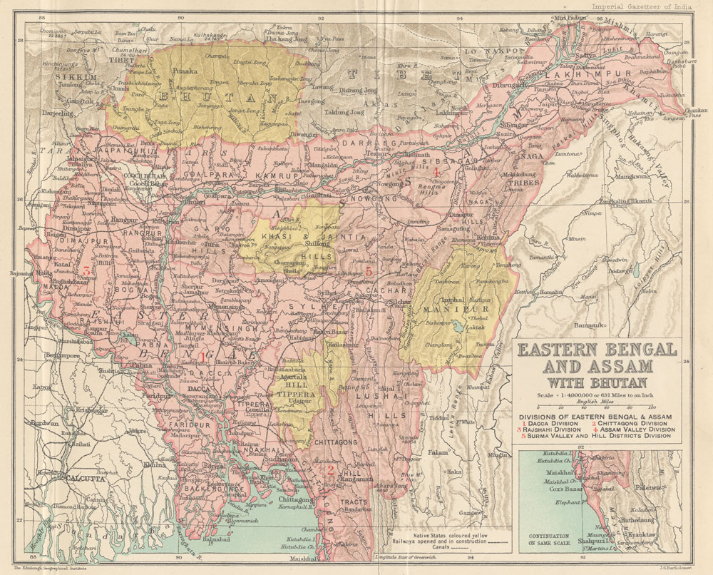 Bengal presidency the annihilation of caste dr b r ambedkar among the gazetteer maps eastern bengal gumiabroncs Gallery