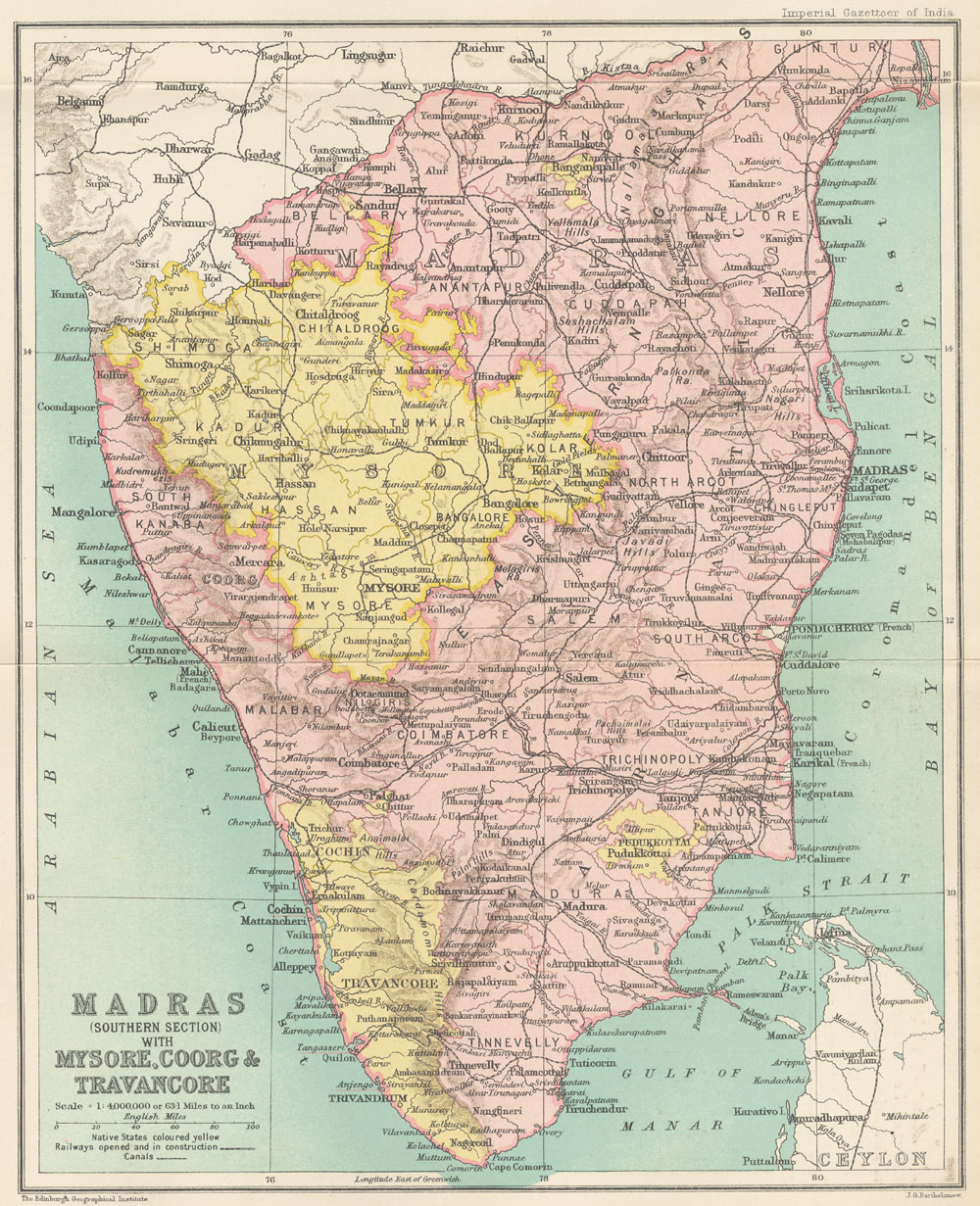 The Digital South Asia Library - Map of united provinces india