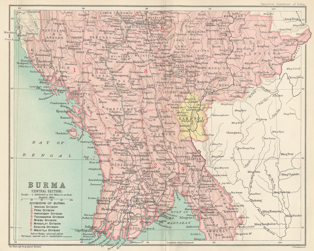 Online burma library reading room maps and satellite imagery title burma central section publicscrutiny Image collections