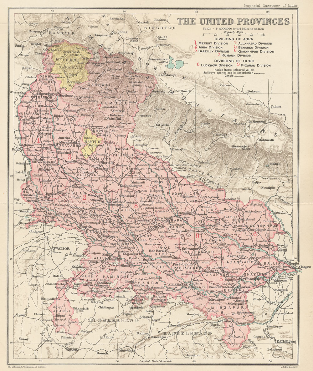 The Digital South Asia Liry on map of india provinces, india and its states, india fertility rate by state, central british india provinces,